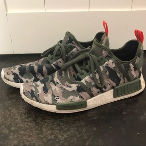 Men's Camouflage Adidas Boost NMD